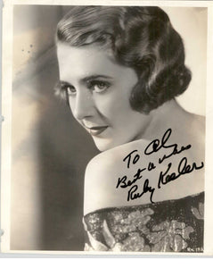Ruby Keeler (d. 1993) Signed Autographed Vintage Glossy 8x10 Photo - COA Matching Holograms
