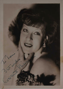 Gertrude Niesen (d. 1975) Signed Autographed Vintage Glossy 5x7 Photo - COA Matching Holograms