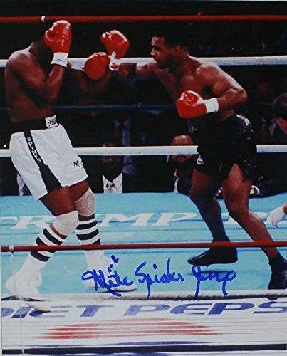 Michael Spinks Signed Autographed Glossy 8x10 Photo - COA Matching Holograms