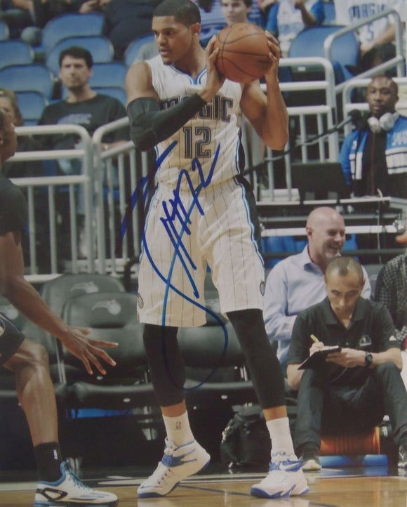 Tobias Harris Signed Autographed Glossy 8x10 Photo - Orlando Magic