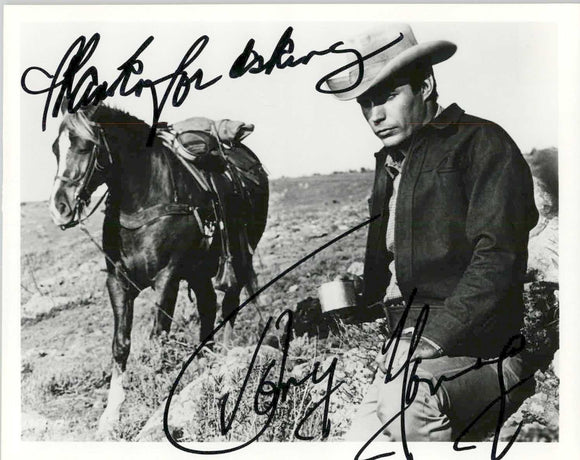 Tony Young (d. 2002) Signed Autographed Glossy 8x10 Photo - COA Matching Holograms