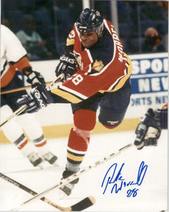 Peter Worrell Signed Autographed Glossy 8x10 Photo - Florida Panthers