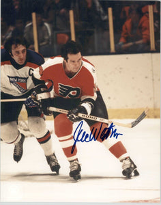 Joe Watson Signed Autographed Glossy 8x10 Photo - Philadelphia Flyers