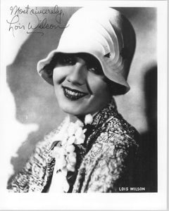 Lois Wilson (d. 1988) Signed Autographed Glossy 8x10 Photo - COA Matching Holograms