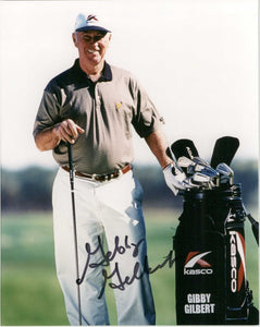 Gibby Gilbert Signed Autographed PGA Golf Glossy 8x10 Photo - COA Matching Holograms
