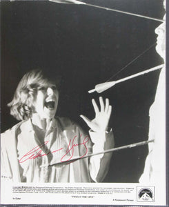 "Adrienne King Signed Autographed Vintage Glossy ""Friday the 13th"" 7x9 Photo - COA Matching Holograms"