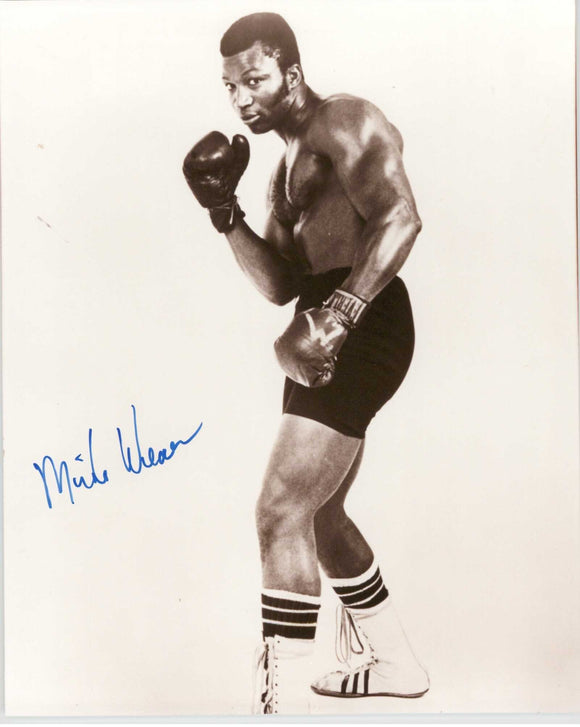 Mike Weaver Signed Autographed Glossy 8x10 Photo - COA Matching Holograms