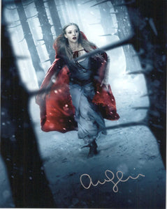"Amanda Seyfried Signed Autographed ""Little Red Riding Hood"" Glossy 8x10 Photo - COA Matching Holograms"