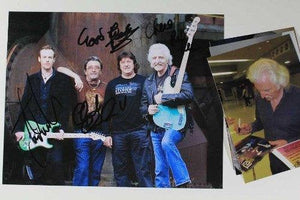 Ten Years After Band Signed Autographed Color Glossy 8x10 Photo - COA Matching Holograms