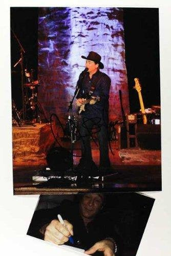Clint Black Signed Autographed Glossy 8x10 Photo - COA Matching Holograms