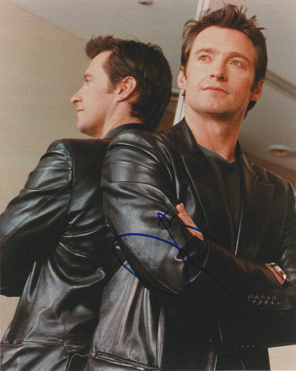 Hugh Jackman Signed Autographed Glossy 8x10 Photo - COA Matching Holograms
