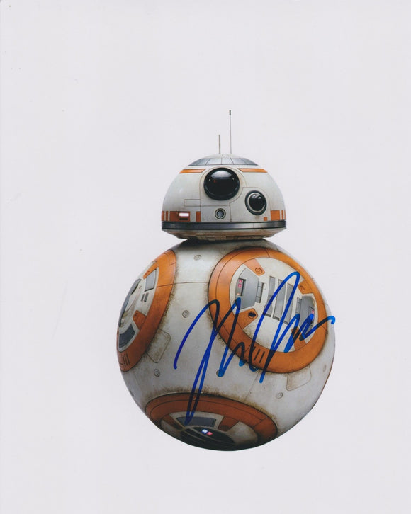 Rian Johnson Signed Autographed