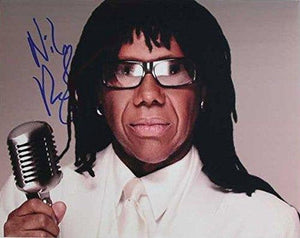 "Nile Rodgers Signed Autographed ""Chic"" Glossy 11x14 Photo - COA Matching Holograms"