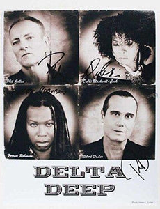 Delta Deep Band Signed Autographed Glossy 11x14 Photo - COA Matching Holograms