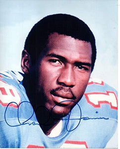 Charlie Joiner Signed Autographed Glossy 8x10 Photo Houston Oilers - COA Matching Holograms