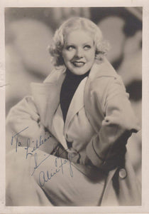 Alice Faye (d. 1998) Signed Autographed Vintage 5x7 Photo - COA Matching Holograms