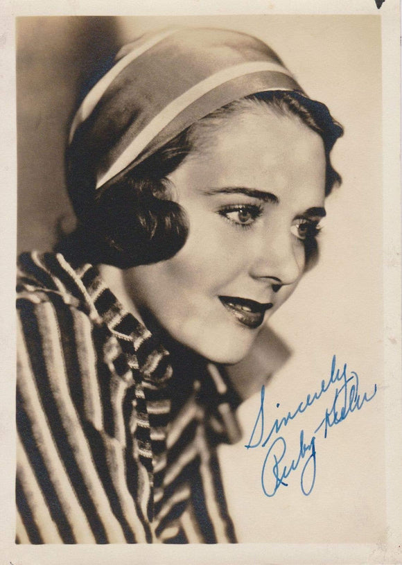 Ruby Keeler (d. 1993) Signed Autographed Vintage 5x7 Photo - COA Matching Holograms