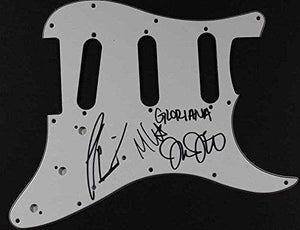 Gloriana Band Signed Autographed Guitar Pick Guard - COA Matching Holograms