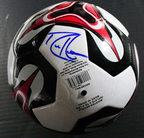 Robbie Keane Signed Autographed Full Sized Soccer Ball - COA Matching Holograms