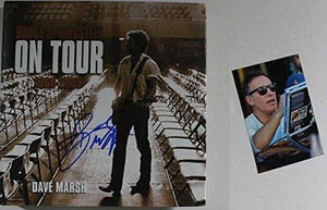 "Bruce Springsteen Signed Autographed ""On Tour"" Hardcover Book - COA Matching Hologram"