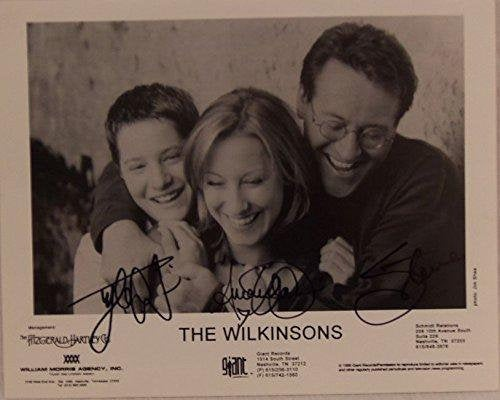The Wilkinsons Signed Autographed Glossy 8x10 Photo - COA Matching Hologram Stickers