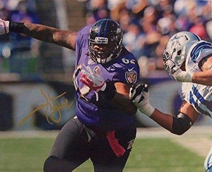 Terrence Cody Signed Autographed Glossy 8x10 Photo - Baltimore Ravens