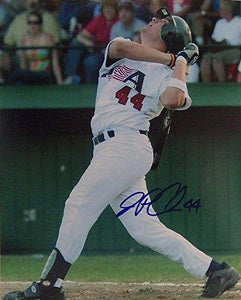 J.P. Arencibia Signed Autographed Glossy 8x10 Photo (Team USA) - COA Matching Holograms