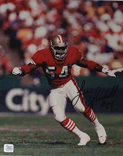 Lee Woodall Signed Autographed 8x10 Photo - San Francisco 49ers