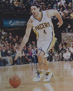 Luis Scola Signed Autographed Glossy 8x10 Photo - Indiana Pacers