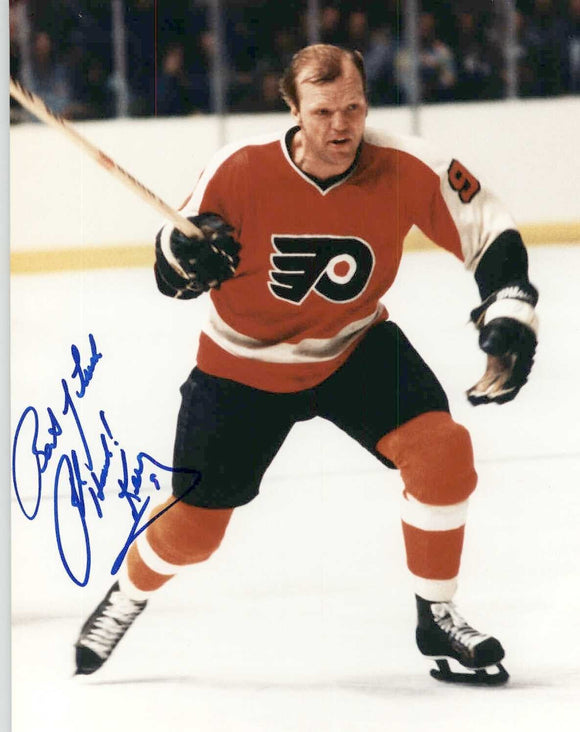 Bob Kelly Signed Autographed 8x10 Photo - Philadelphia Flyers