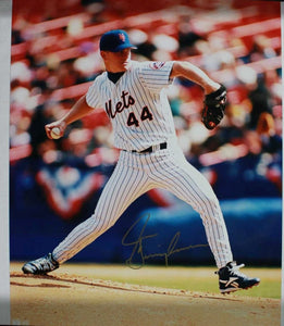 Jason Isringhausen Signed Autographed Glossy 16x20 Photo - New York Mets