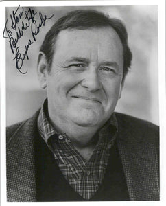 Eugene Roche (d. 2004) Signed Autographed Glossy 8x10 Photo - COA Matching Holograms