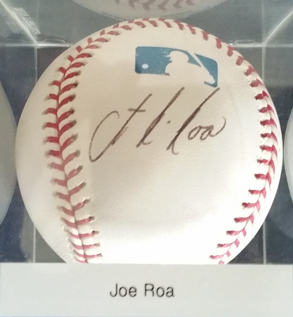 Joe Roa Signed Autographed Official Major League (OML) Baseball - COA Matching Holograms