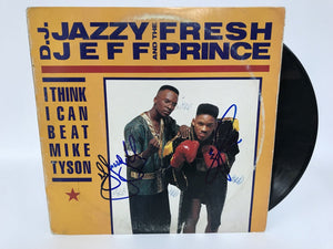 "Will Smith + D.J. Jazzy Jeff Signed Autographed ""DJ Jazzy Jeff & The Fresh Prince"" Record Album - COA Matching Holograms"
