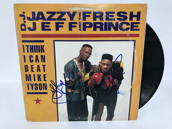 Will Smith + D.J. Jazzy Jeff Signed Autographed