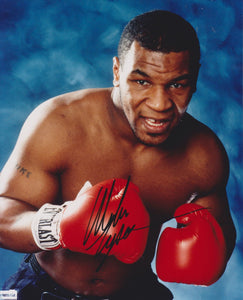Mike Tyson Signed Autographed Glossy 8x10 Photo - COA Matching Holograms