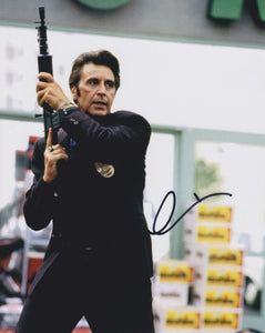 "Al Pacino Signed Autographed ""Heat"" Glossy 8x10 Photo - COA Matching Holograms"