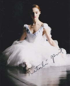 "Natalie Portman Signed Autographed ""Black Swan"" Glossy 8x10 Photo - COA Matching Holograms"
