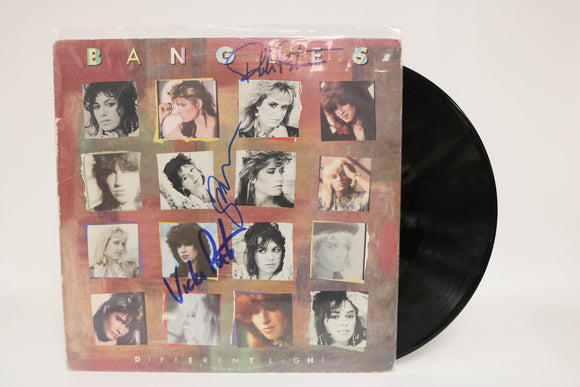 The Bangles Band Signed Autographed 'Different Light' Record Album - COA Matching Holograms