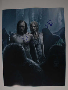 "Alexander Skarsgard & Margot Robbie Signed Autographed ""The Legend of Tarzan"" Glossy 16x20 Photo - COA Matching Holograms"