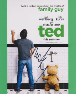 "Mark Wahlberg Signed Autographed ""Ted"" Glossy 8x10 Photo - COA Matching Holograms"