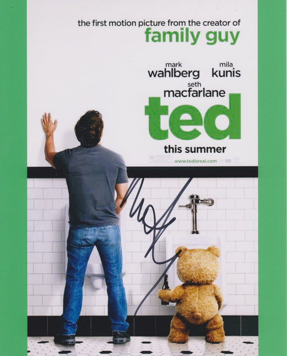 Mark Wahlberg Signed Autographed
