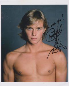 "Christopher Atkins Signed Autographed ""Blue Lagoon"" Glossy 8x10 Photo - COA Matching Holograms"