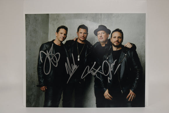 98 Degrees Band Signed Autographed Glossy 11x14 Photo - COA Matching Holograms