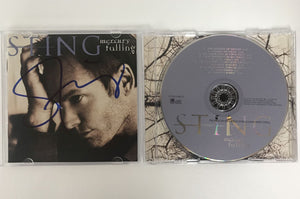 "Sting Signed Autographed ""Mercury Falling"" Music CD - COA Matching Holograms"