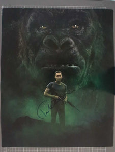 "Tom Hiddleston Signed Autographed ""King Kong Skull Island"" Glossy 16x20 Photo - COA Matching Holograms"