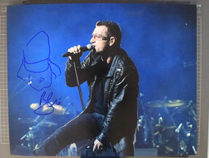 "Bono Signed Autographed ""U2"" Glossy 16x20 Photo w/ Sketch - COA Matching Holograms"