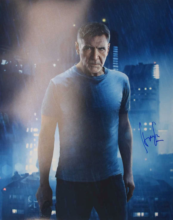Harrison Ford Signed Autographed