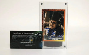 "Danny Devito Signed Autographed Batman ""The Penguin"" Trading Card - COA Matching Holograms"