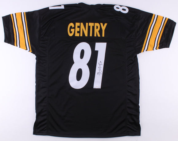 Zach Gentry Signed Autographed Pittsburgh Steelers Football Jersey - TSE COA